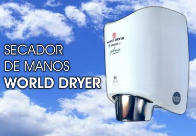 "Secador de manos ""WORLD-DRYER"""